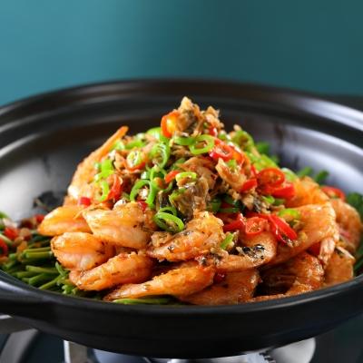 韭香脆皮虾